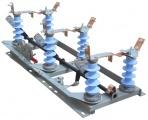 Разъединитель РЛНД-1-10.IV/630 УХЛ1 (3-х полюс.) на полимерных изоляторах
