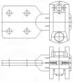 Зажим аппаратный штыревой АШМ-27-1